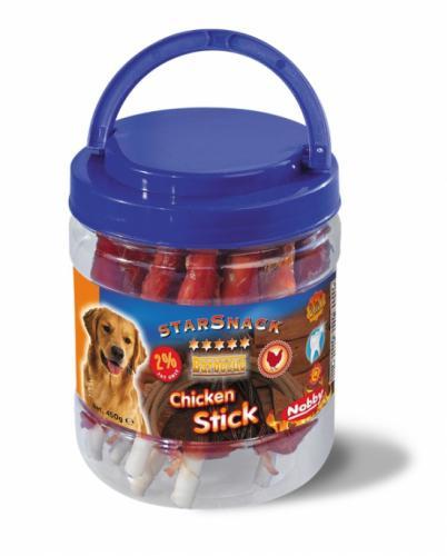 Nobby StarSnack Barbecue Chicken Stick kyblík tyèinky kuøecí 450g