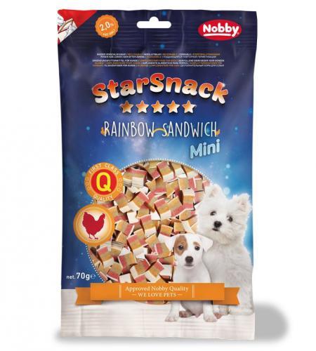 Nobby StarSnack Mini Soft mìkké pamlsky kuøe+ryba 70g