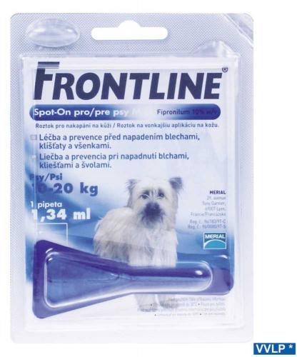 Frontline spot-on pes M 10-20 kg