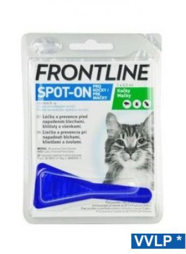 Frontline spot-on koèka