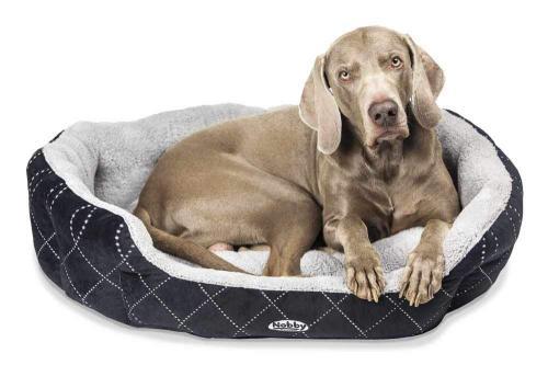 Nobby Ceno pelíšek pro psa èerná 86x70x24cm