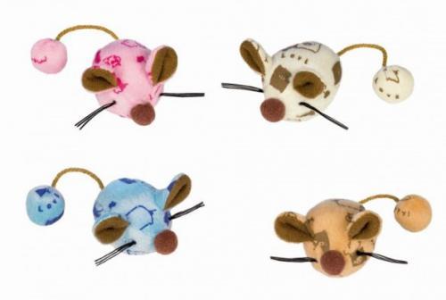 Nobby hraèka plyšové myšky 6cm 2ks