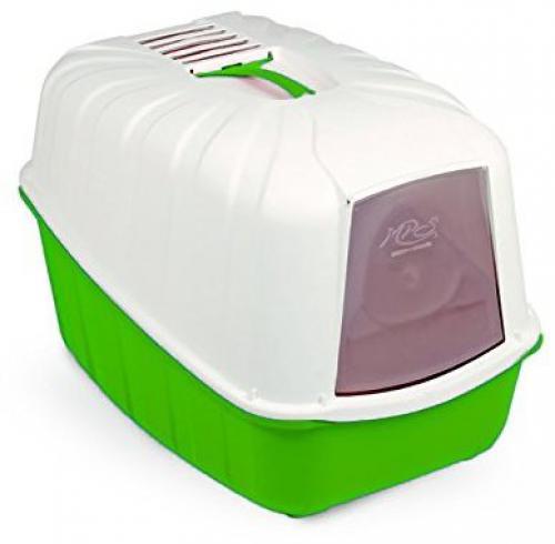 Toaleta pro koèky Komoda zelená 54 x 39 x 40 cm