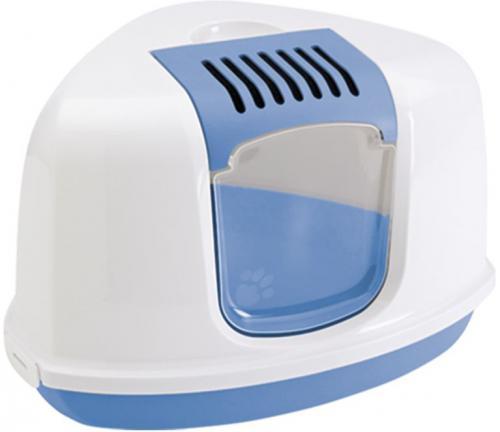 Savic NESTOR Corner toaleta rohová 58x45x40cm modrá