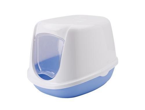 Savic Duchesse toaleta pro koèky 44x35x32cm modrá