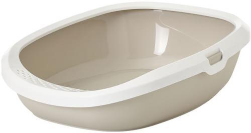 Savic Gizmo M toaleta pro koèky béžová 44 x 35,5 12,5 cm