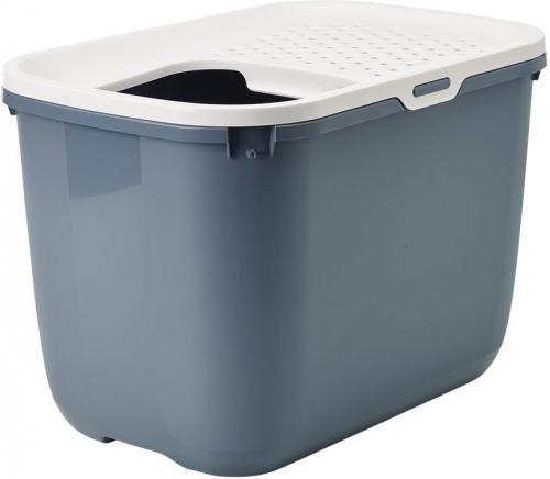 Savic Hop In toaleta pro koèky s horním vstupem modrá 59x39x38cm