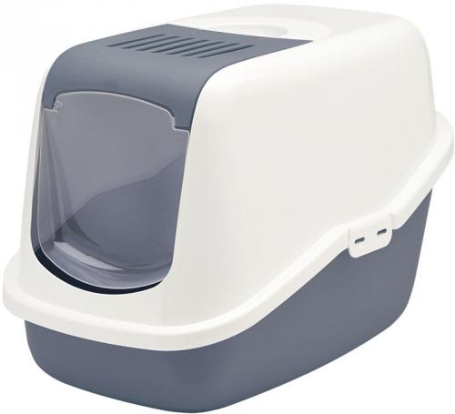 Savic NESTOR toaleta pro koèky 56x39x38cm modrá
