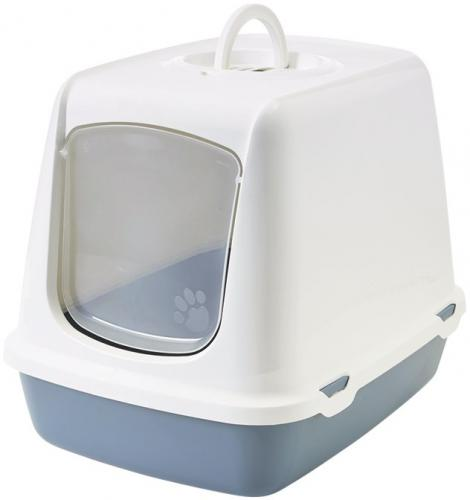Savic Oscar rùžová toaleta pro koèky 50x37x39cm