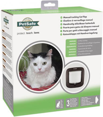PetSafe Manual Cat Flap dvíøka pro koèky do 8 kg hnìdá