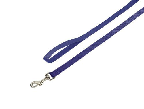 Nobby CLASSIC nylonové vodítko 120cm / 25mm modrá
