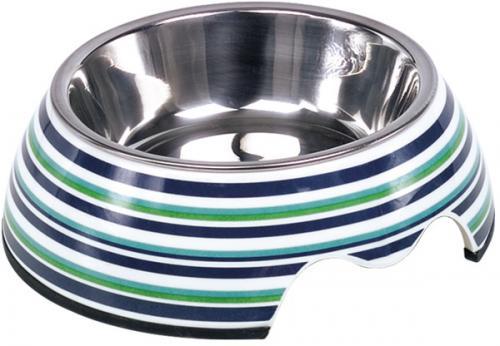 Nobby Stripe nerez miska v barevném pouzdøe 160ml