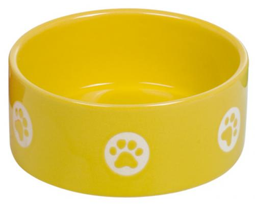 Nobby TASSU keramická miska žlutá 15x6cm