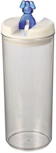 Nobby Flip Dog akrylová dóza na pamlsky pes 2,6 l