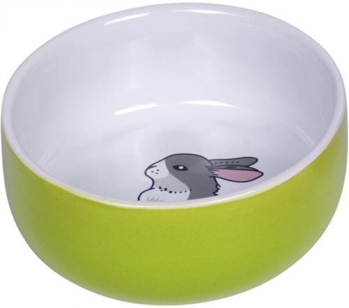 Nobby Rabbit keramická miska pro hlodavce králíèek 11 x 4,5 cm