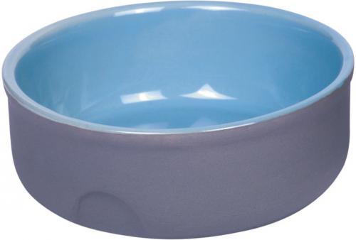 Nobby Feed keramická miska modrá 13 x 5 cm
