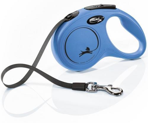 Flexi NEW CLASSIC S pásek 5m/15kg modrá