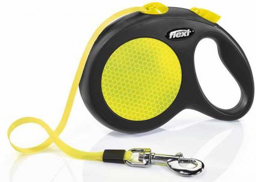 Flexi Neon páskové vodítko L 5m do 50kg