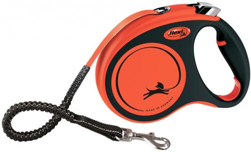 Flexi XTREME vodítko pásek M 5m/35kg oranžová