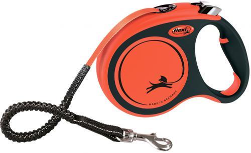 Flexi XTREME vodítko pásek L 5m/65kg oranžová
