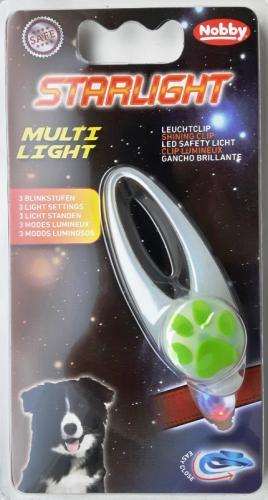 Starlight Multi Light blikající pøívìšek transparentní 1ks