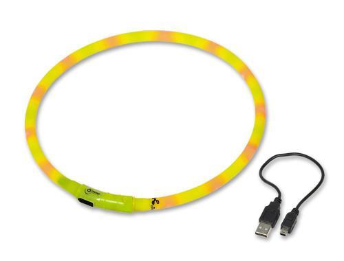 Nobby Led Visible svítící kroužek silikon žlutá 70cm