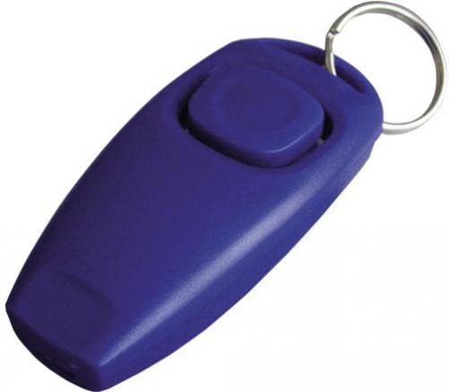 Nobby 2v1 tréninkový klikr s píš�alkou 7 x 3,5 cm 1 ks