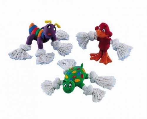 Nobby hraèka pro psa s uzlíky latex 12-14 cm 1 ks
