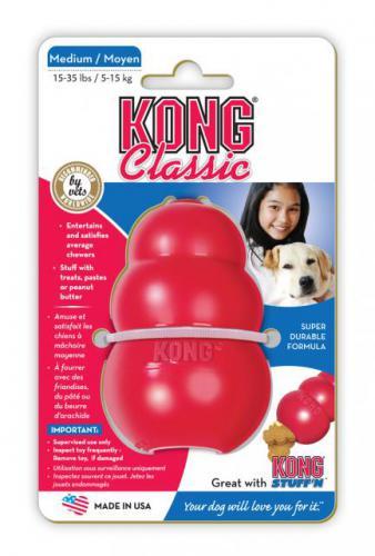 Kong Classic Medium hraèka granát 8cm / 140g