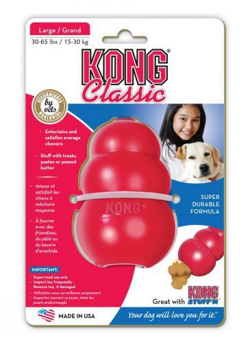Kong Classic Large hraèka granát 10cm / 240g