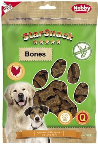 Nobby StarSnack Bones GLUTEN FREE bezlepkové pamlsky kostièky 150g
