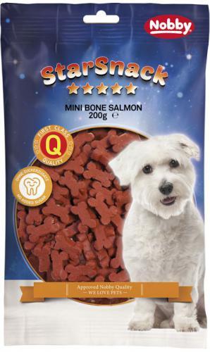 Nobby StarSnack Mini Bones Salmon kostièky 200g