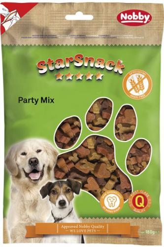 Nobby StarSnack Party Mix GRAIN FREE pamlsky 180g