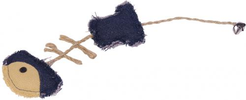 Nobby hraèka pro koèky rybí kost s catnipem 24 cm