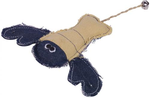 Nobby hraèka pro koèky humr s rolnièkou a catnipem 18 cm