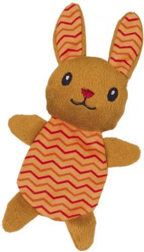 Nobby hraèka pro koèky králík plnitelný catnipem 17 cm