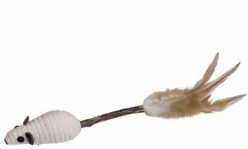 Nobby hraèka pro koèky Matatabi tyèinka s myškou 14 cm