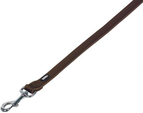 Nobby CLASSIC PRENO vodítko neoprén XS/S 120cm hnìdá