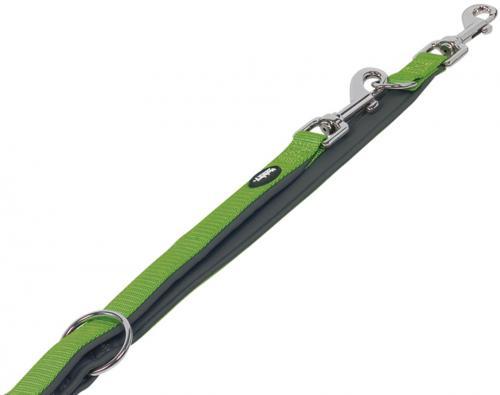 Nobby CLASSIC PRENO vodítko neoprén XS/S 200cm zelená