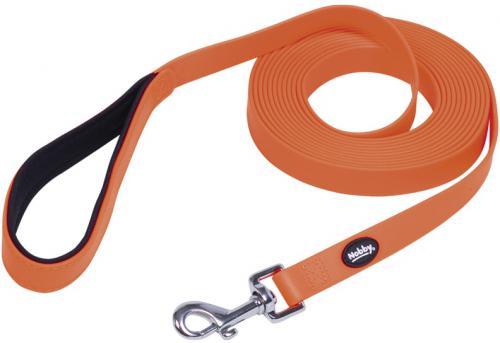 Nobby COVER stopovací vodítko pvc oranžové M/L 10m