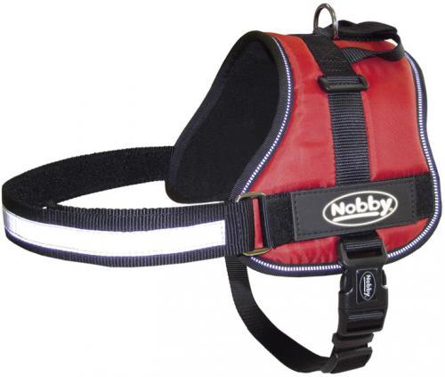 Nobby Seguro bezpeènostní postroj pro psa M-L èervený 65-80cm