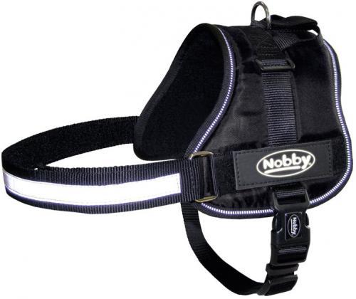 Nobby Seguro bezpeènostní postroj pro psa M-L èerný 65-80cm