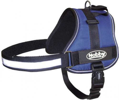 Nobby Seguro bezpeènostní postroj pro psa M-L modrý 65-80cm