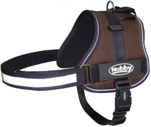 Nobby Seguro bezpeènostní postroj pro psa XL hnìdý 82-110cm