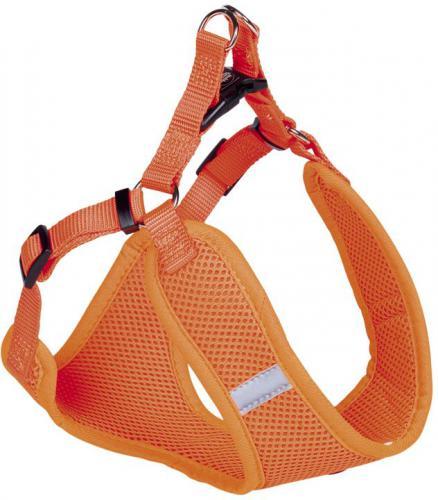 Nobby hrudní postroj XS neon oranžová