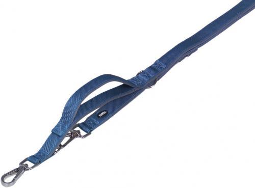 Nobby CLASSIC PRENO ROYAL vodítko neoprén modrá L-XL 200cm