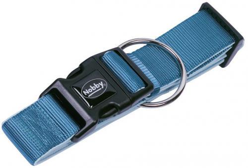 Nobby CLASSIC PRENO extra široký obojek neoprén svìtle modrá L 32-45cm