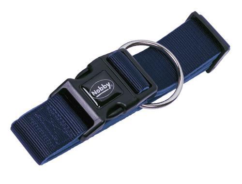 Nobby CLASSIC PRENO extra široký obojek neoprén tmavì modrá L 32-45cm