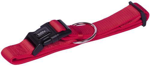 Nobby CLASSIC PRENO extra široký obojek neoprén èervená XL 55-70cm