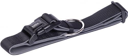 Nobby CLASSIC PRENO extra široký obojek neoprén èerná XL 55-70cm